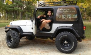 Whimsical Whitetails Owner in Jeep
